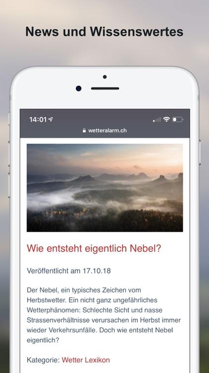 Wetter-Alarm: Schweiz screenshot-7