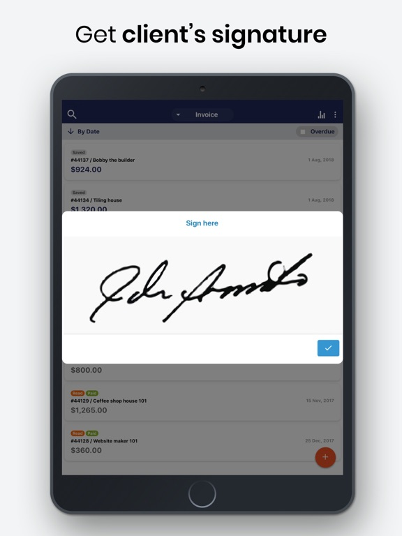 Invoice Maker & Estimate App