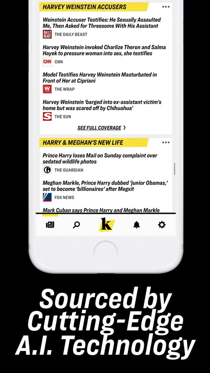 Knewz: Local & World News App screenshot-3