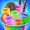 Stir-fried Ice Cream Roll