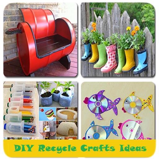 DIY Recycle Crafts Ideas
