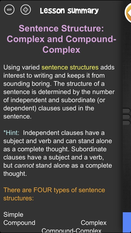iTooch 8th Grade Language Arts screenshot-4