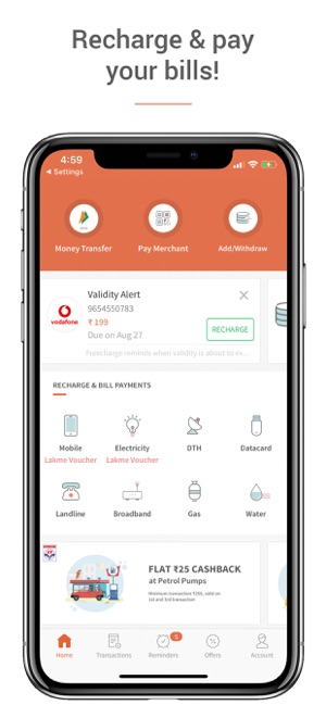 Freecharge - Payments & Wallet on the App Store