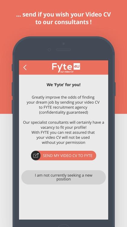 Fyte4U – Your Video CV screenshot-3