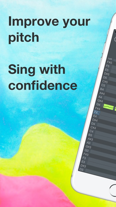 download OnPitch - Vocal Pitch Monitor apps 3