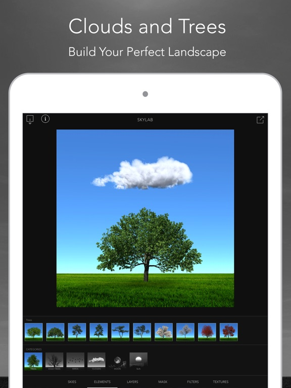 SkyLab Photo Editor Screenshots