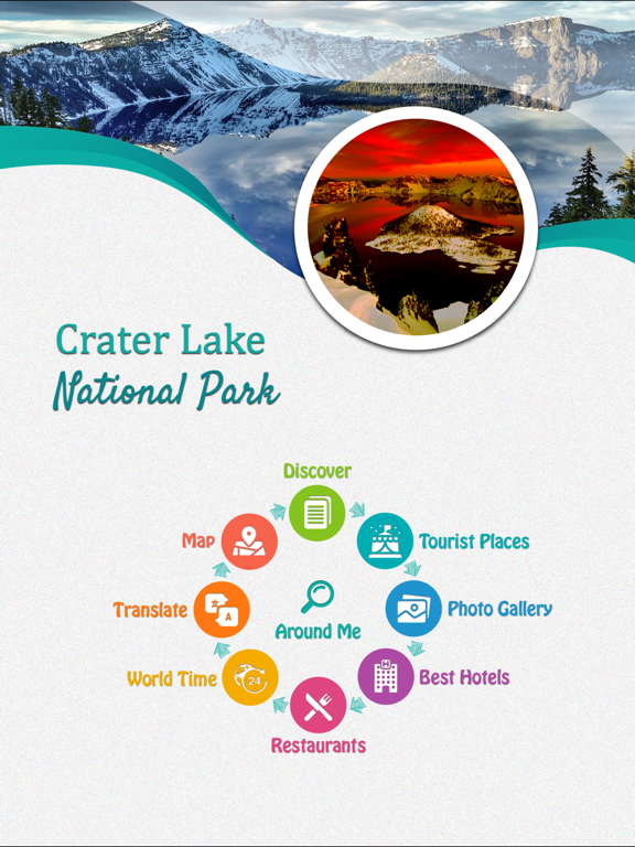 Crater Lake National Park screenshot 7