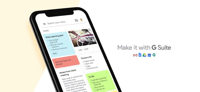 Google Keep: notas e listas Screenshot
