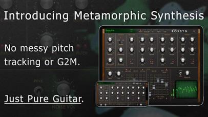 Roxsyn Guitar Synthesizer screenshot 1
