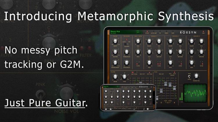 Roxsyn Guitar Synthesizer screenshot-0