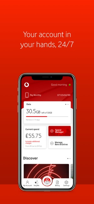 My Vodafone on the App Store