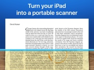 Scanner Mini by Readdle ipad images