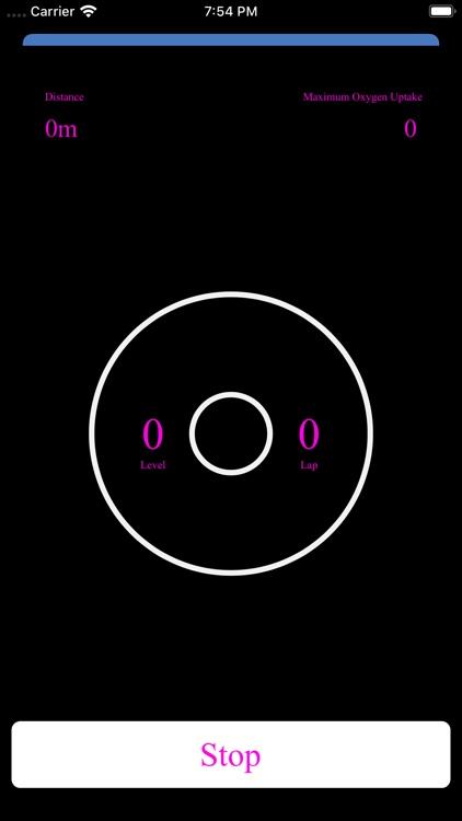 Neon Bleep Test PRO screenshot-3