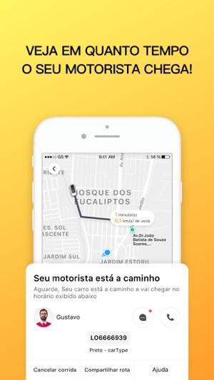 99 Motorista Particular e táxi Screenshot
