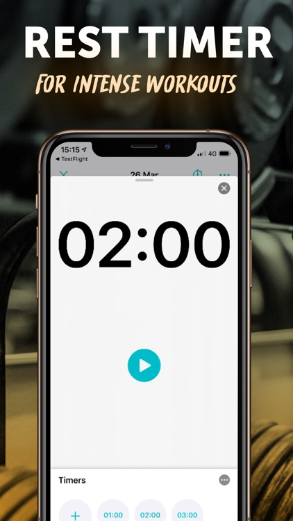 RepCount - Workout Log screenshot-6