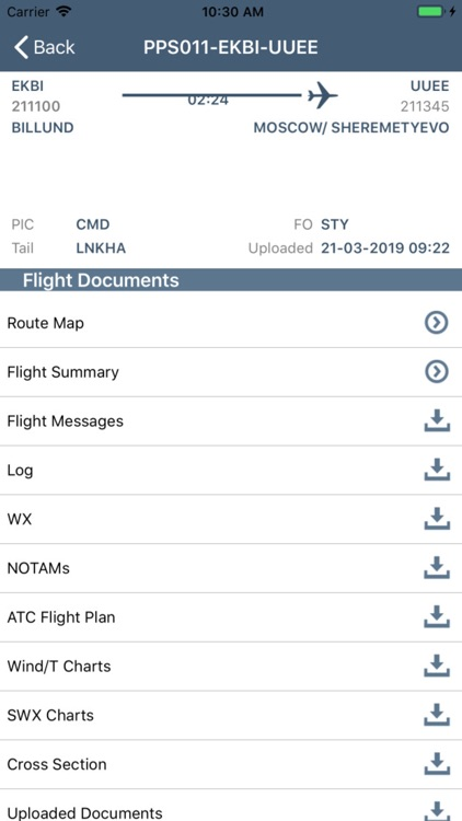 CrewBriefing App screenshot-3