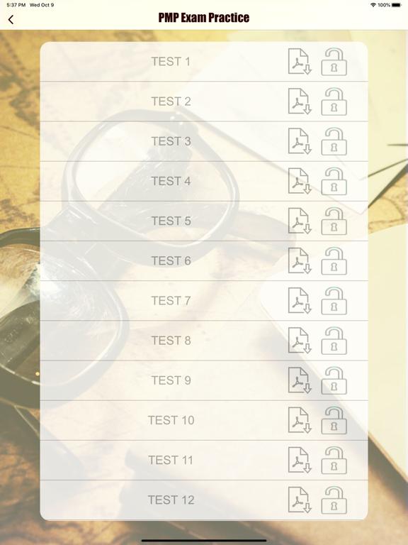 PMP Revision Aid screenshot 11