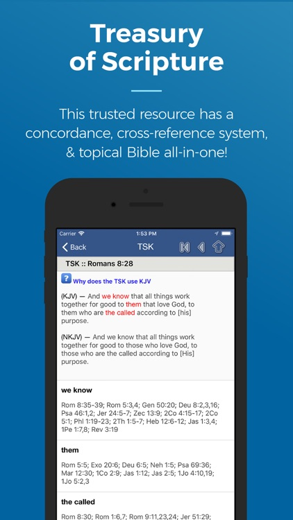 Blue Letter Bible screenshot-2