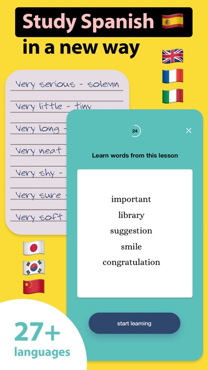 Words Booster: Learn Languages