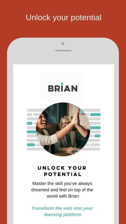 Brian : Achieve your goals screenshot-9