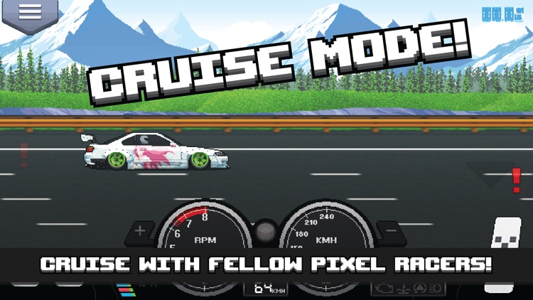 Pixel Car Racer screenshot-3