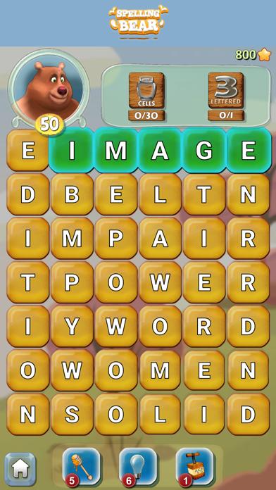 Spelling Bear :Honey Word Hunt screenshot 12