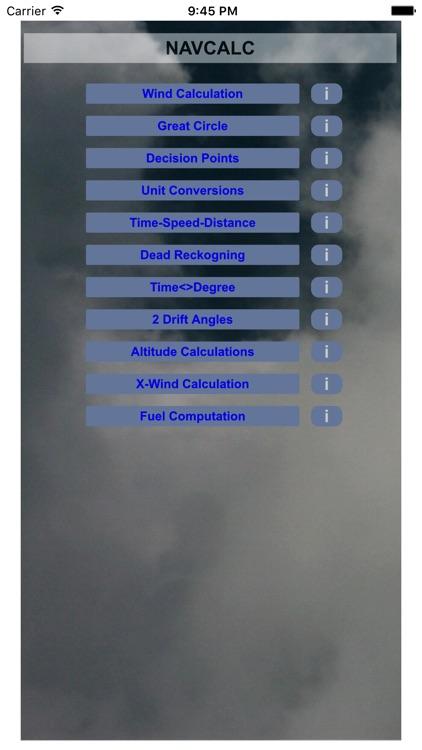 Aviation NavCalc screenshot-4