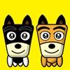TF-Dog 4 Stickers