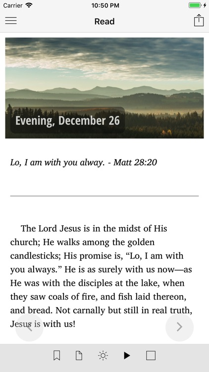 Morning and Evening With God