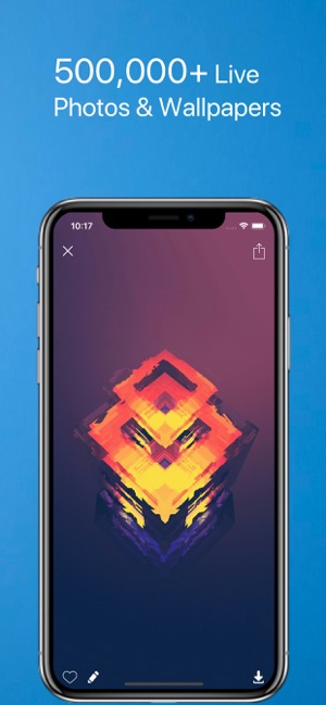 ‎PhotoX Pro Top Live Wallpapers Screenshot
