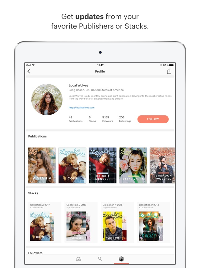 issuu - Read Magazines on the App Store