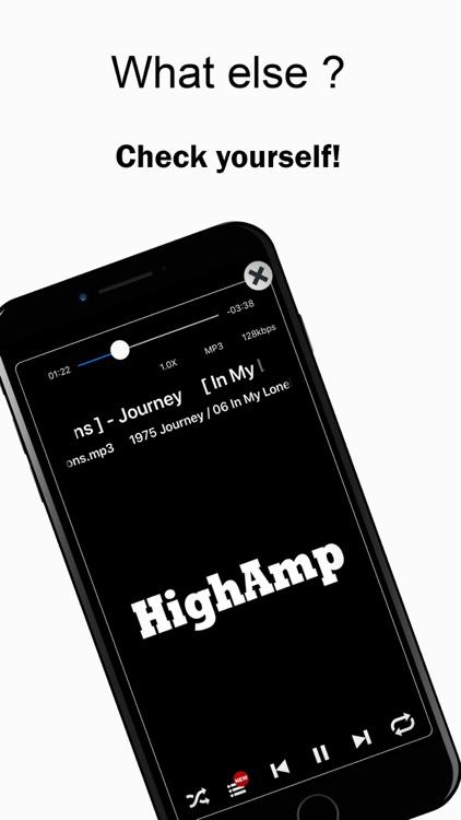 HighAmp : MP3 Music Player screenshot-7