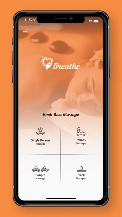 Breathe – In Home Massage