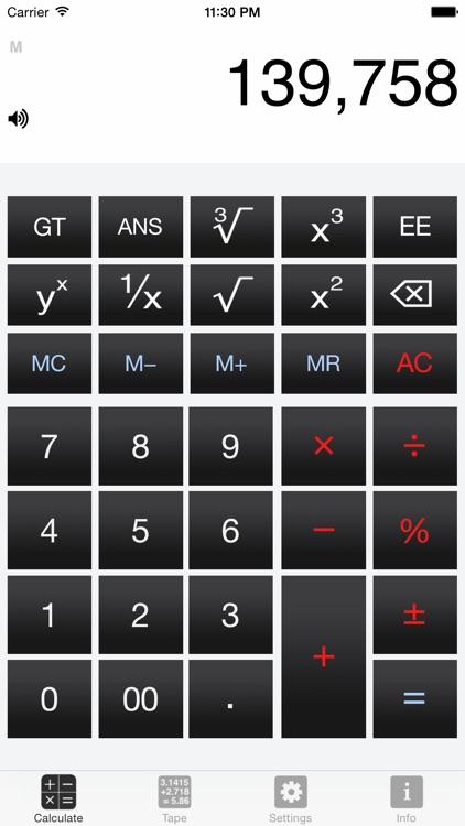 CalculateRetro screenshot-0