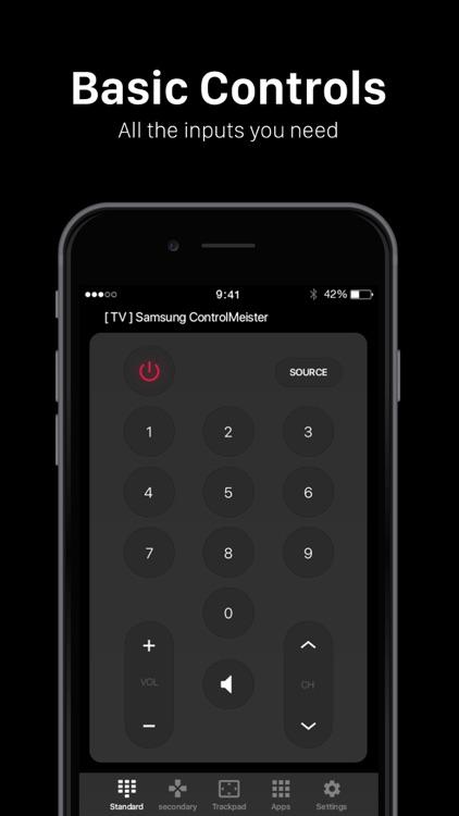 ControlMeister for Samsung TV screenshot-6