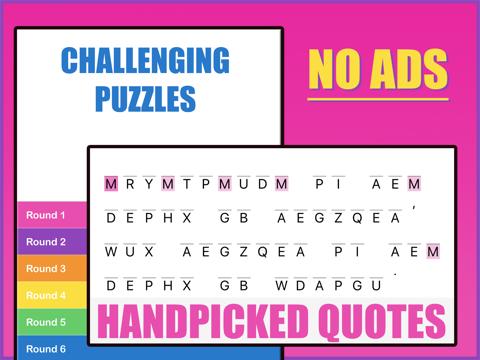 Cryptogram Round - náhled