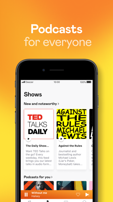 İndir Deezer: Music & Podcast Player Pc için
