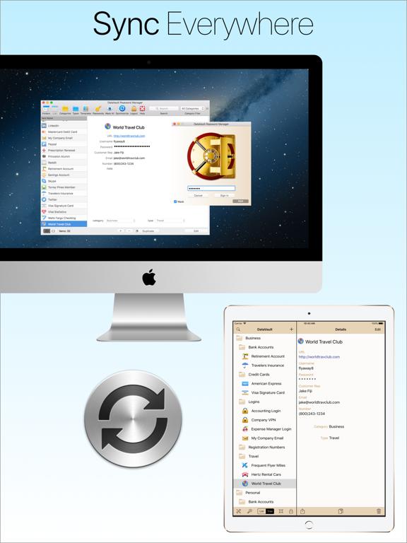 DataVault Password Manager screenshot