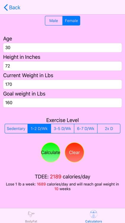 Calculate My Body screenshot-6