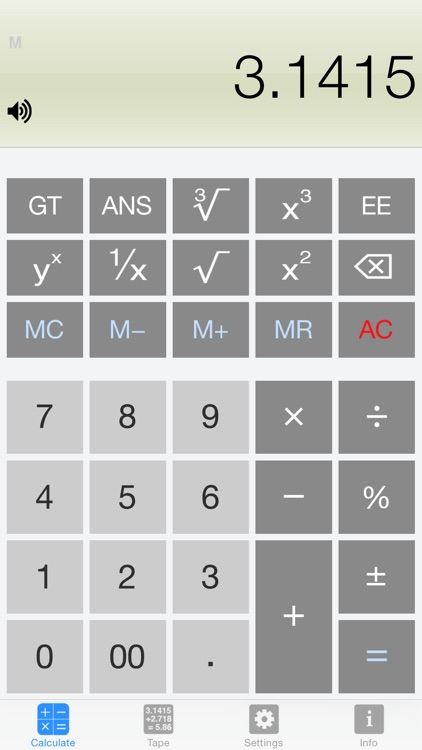 Calculator Silver screenshot-0