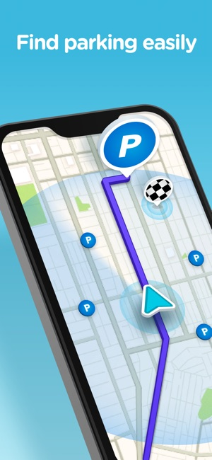 Waze Navigation & Live Traffic Screenshot