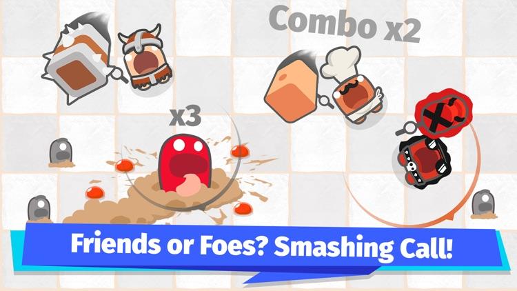 Smashers.io Foes in Worms Land screenshot-3