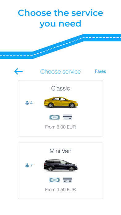 Its My Ride - Your Private Cab screenshot two