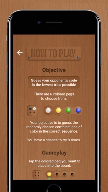 Mastermind - Board Game screenshot-4