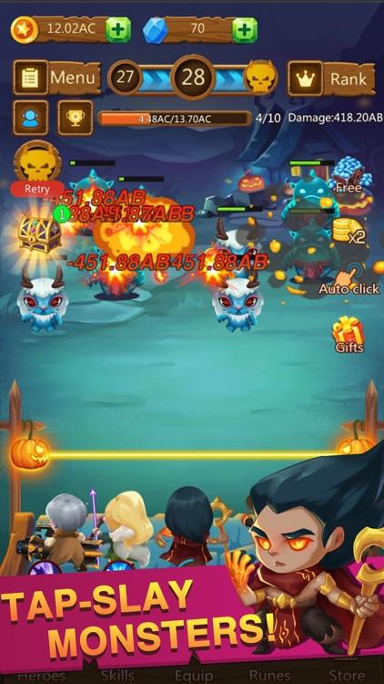 Idle Monster Defense -RPG Game