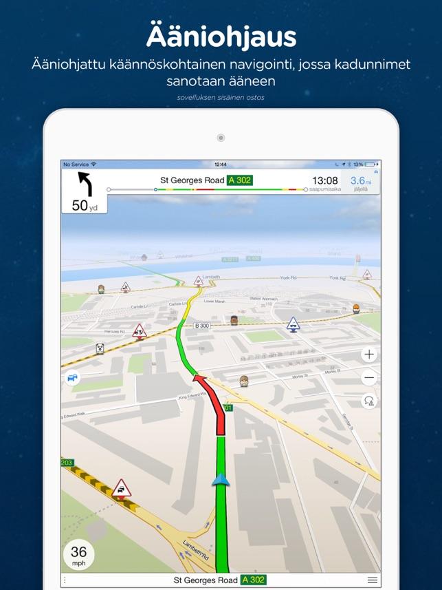 Navmii Offline Gps Ruotsi App Storessa