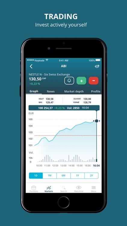 Keytrade Bank Luxembourg. screenshot-4