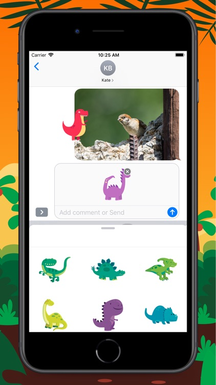 Tiny Dinosaur Stickers screenshot-5