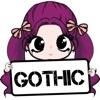 Gothic Girl-Goth Chibi