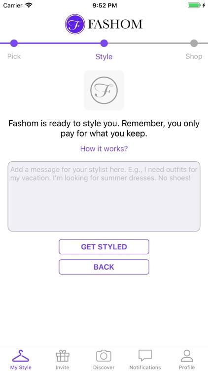 Fashom - Personal Styling App screenshot-5